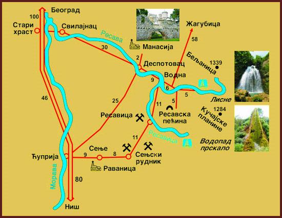 despotovac mapa Buk Bare   restoran sa prenocistem despotovac mapa